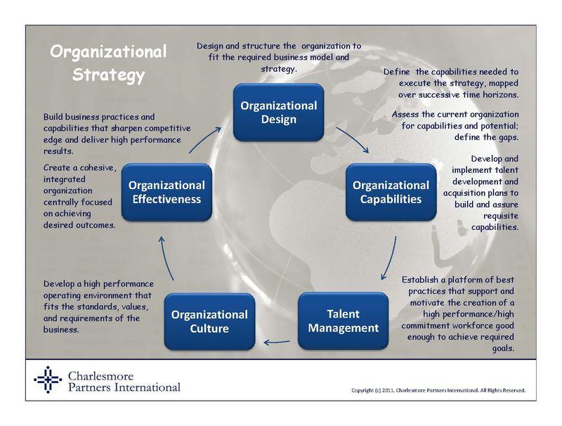 Organizational strategy model