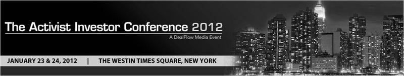 Shareholder Activist Conference